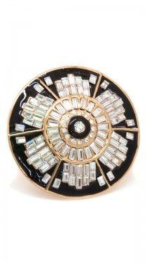 Blossom Ring - Black