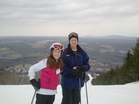 Elk Mountain, PA skiing  My favorite mountain of all time, especially night skiing!