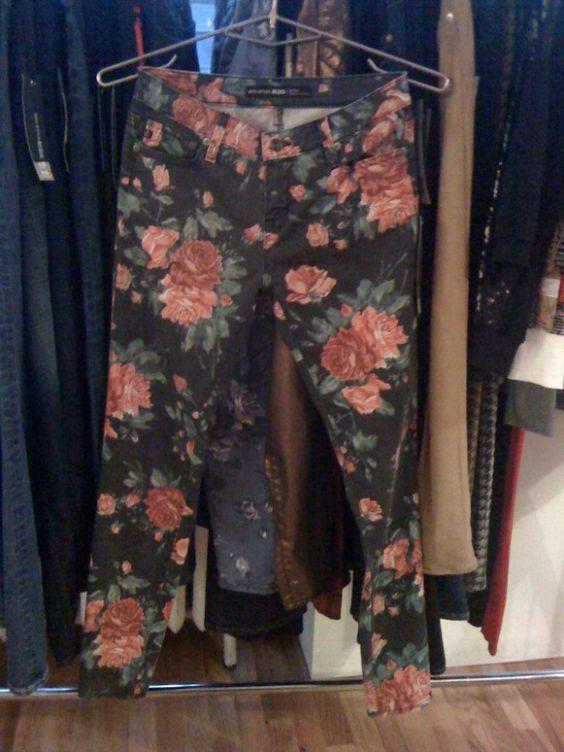 Floral Big Star USA jeans