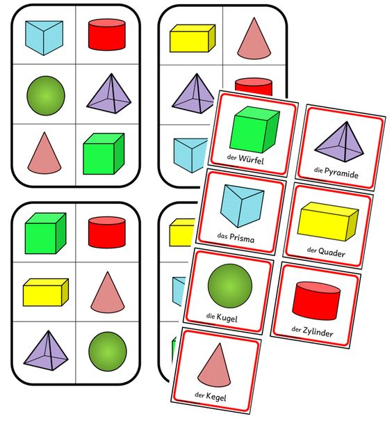 Hasenklasse: Geometrie: Körper-Klatschspiel