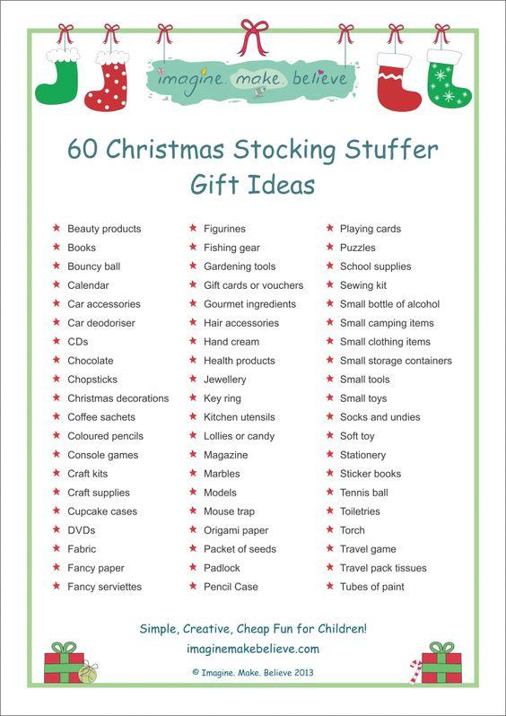 Ideas For Christmas Stockings christmas stocking stuffer ideas | christmas stocking stuffers
