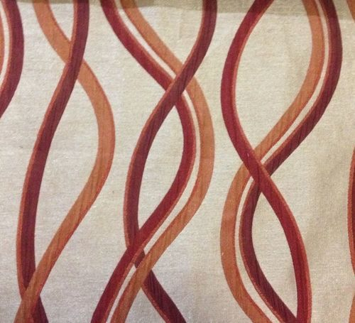 Red Curtains beige red curtains : Custom Curtains in Golden Beige/ Orange & Red Rust Abstract ...