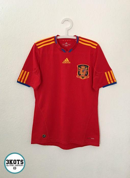 tarifa Gran Barrera de Coral Recuento  SPAIN 2010/11 Home Football Shirt S ADIDAS Vintage Soccer Jersey World Cup # adidas #Spain | Camisetas, Playeras, Fútbol