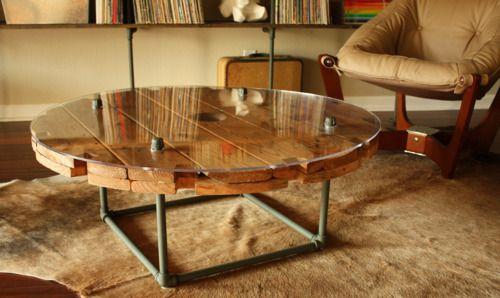 Diy Kabelrolle Tisch Ihr Eigener Designer Tisch Cable