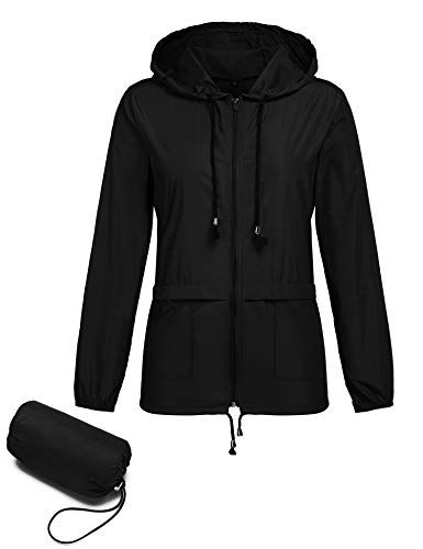 Navy White Polka Rain Mac Fishtail RainCoat Hooded Jacket Kagool Waterproof
