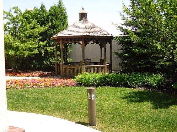 I want a backyard like this...Comfort Inn & Suites Brown Deer WI