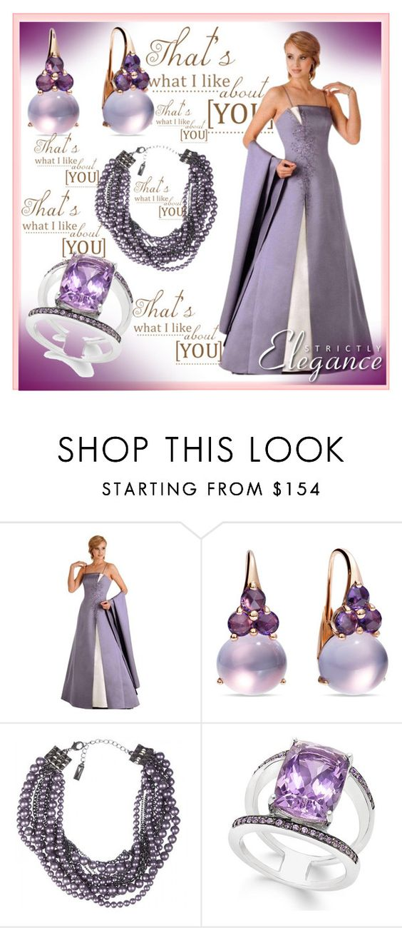 """Elegance<<"" by amira-1-1 ❤ liked on Polyvore featuring Pomellato and Lia Sophia"