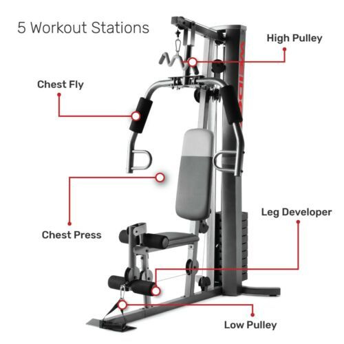 Discount 599 95 Weider Xrs 50 Home Gym Fitness Machine Exercise Workout Weights Bench System New In 2021 Home Gym Body Training Workout Machines