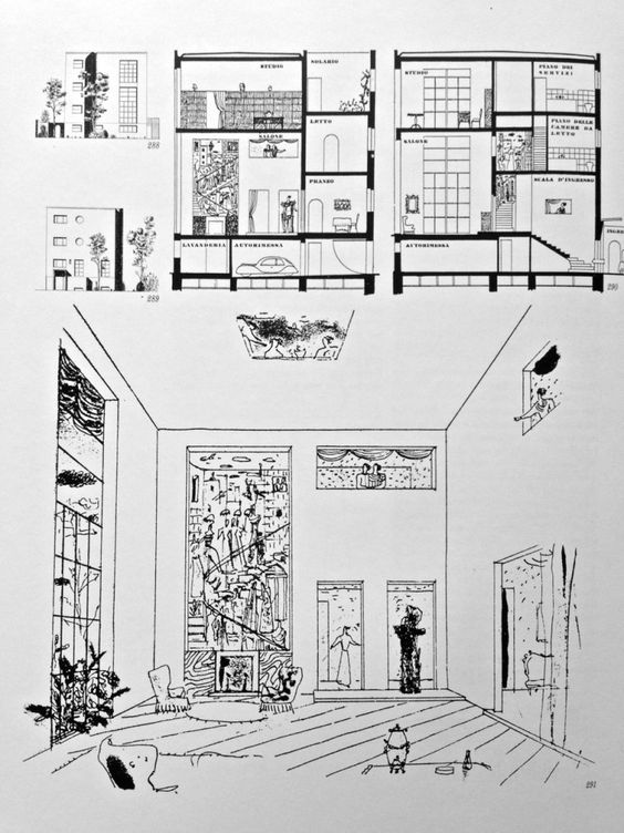 gio ponti architecture - Google Search