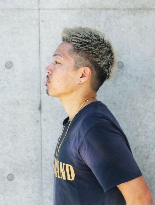 メンズ 髪型 ツー ブロック ベリー ショート アシメ