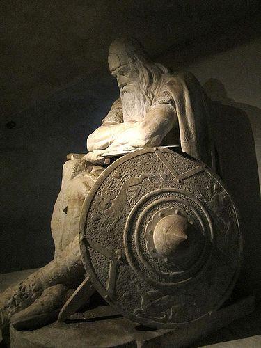 He Sleeps - Kronborg Castle, Helsingor, Denmark: