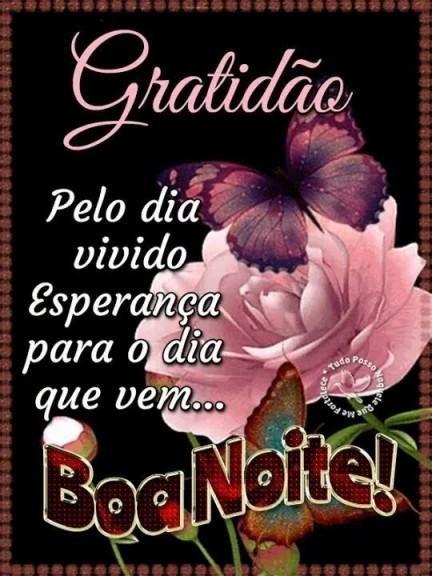 Boa noite de gratidão