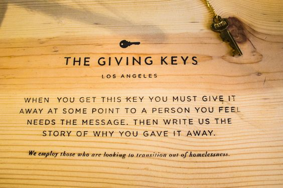 At Within we carry a selection of The Giving Keys, these exist to employ those who are transitioning out of homelessness to make jewelry out of repurposed keys that are sold and shared around the world. Each key contains a unique message like hope, strength, dream, or courage. When the wearer if the key encounters someone else who needs the message on the key, they give it away then send us the story of their key being paid forward. Come browse our selection today! #thegivingkeys