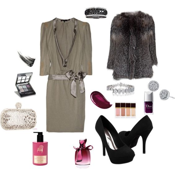 """Premiere Night"" by sageflower on Polyvore"