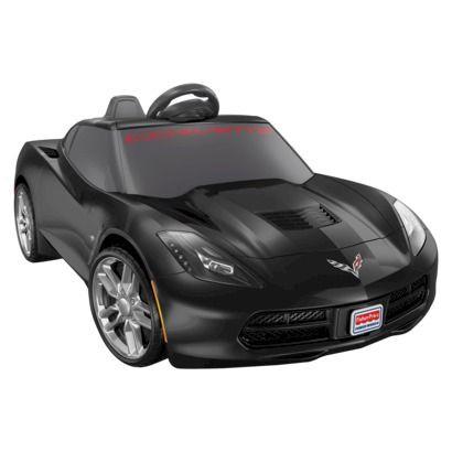 power wheels corvette black gifts for kids pinterest corvettes pedal. Cars Review. Best American Auto & Cars Review