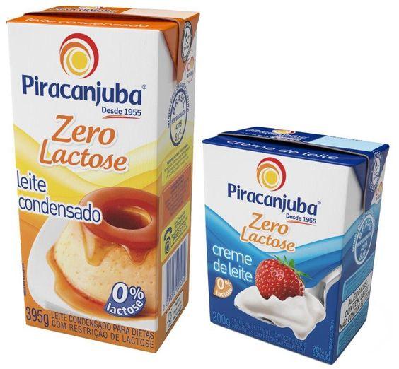 Piracanjuba lança leite condensado sem lactose