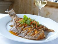 Olde Pink House Restaurant in Savannah, GA - Whole fish entree looks so appetizing