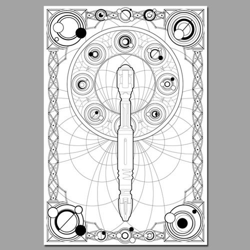 the sonic screwdriver is a fictional tool in the british science fiction television programme doctor who and its spinoffs description from imgarca - Tools Coloring Pages Screwdriver