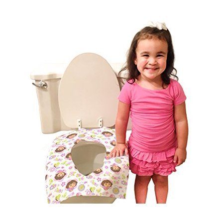 Dora The Explorer Disposable Toilet Seat Covers 40 Count Seat