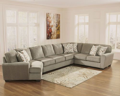 Patola Park Patina Left Arm Facing Cuddler Armless Sofa Wedge Right Arm Facing Loveseat Furniture Cheap Living Room Sets Ashley Furniture