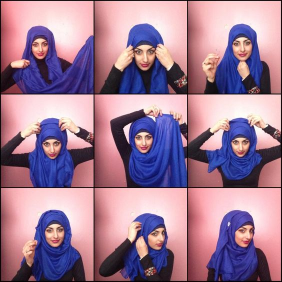 Styles De Hijab Hijabs And Hijab Simple On Pinterest
