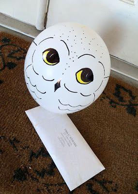 Harry potter diy, Hedwig owl and Hogwarts letter on Pinterest