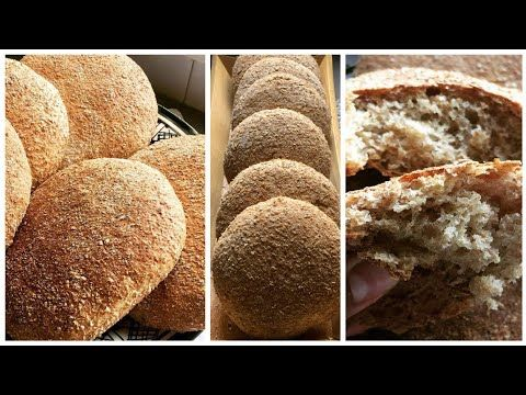 خبز دقيق القمح الكامل اخف من القطن بدون دلك او مجهود احسن من ديال المخبزات سهل التحضير و بالتفاصيل Youtube Bread Food