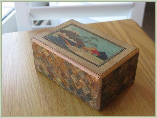 Japanese Puzzle Box Vintage