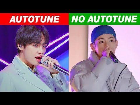 Kpop Idols Autotune Vs No Autotune Mv Vs Live Youtube Kpop Kpop Idol Boy Groups