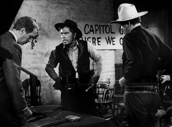The Man Who Shot Liberty Valance is a classic western film that promotes democracy and masculinity.