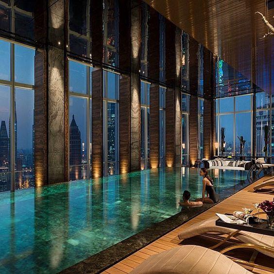 Indoor pool | Home Design/Indoor Pools/Spa(Jetted Tub) | Pinterest ...