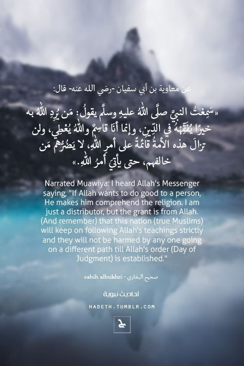 Pin By Leillly On أحاديث نبويه Islam Facts Islamic Inspirational Quotes Hadith