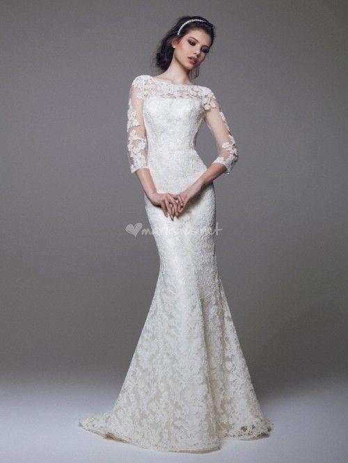 Vous avez, vous aussi, un petit faible pour les robes avec un décolleté orné de dentelle ? Préparez-vous à avoir un coup de cœur avec notre sélection de robes aux décolletés voilés splendides !