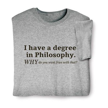 Degree in philosophy