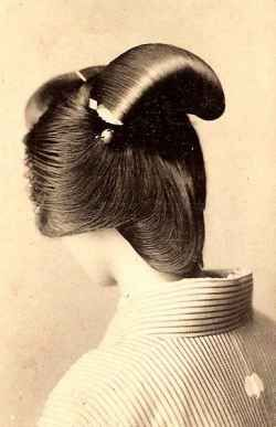 The Nihongami hair style usually needs some combs and supplies to keep it's shape.  The geishas will even use wax called Bintsuke with this hair do.Hair ornaments called Kanzashi are also used to decorate this style hair do.   Find out how to create a geisha hair do!