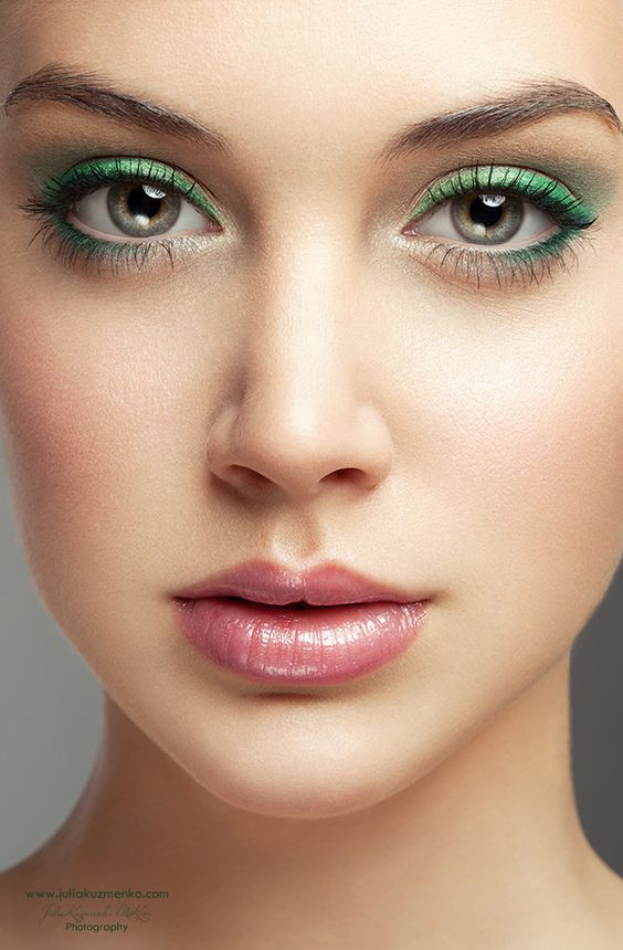 #Green #eyeshadow #Fairy #Mascara www.colorbooty.com