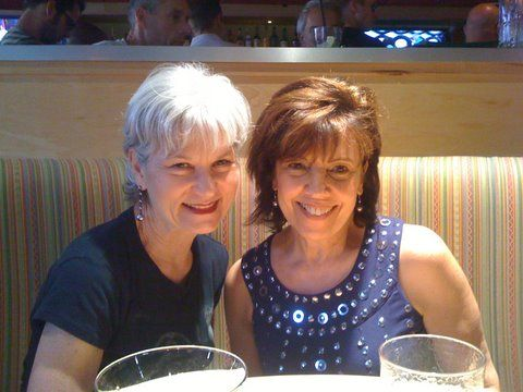 My friend Susan and me before the Lady Gaga concert in Orlando.