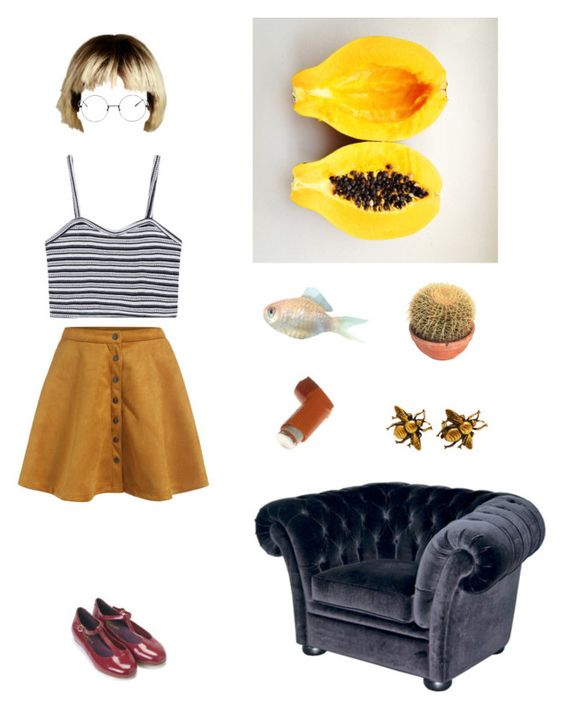"""The Queen's Throne"" by galaxymilklove ❤ liked on Polyvore featuring CHESTERFIELD and Monsoon"