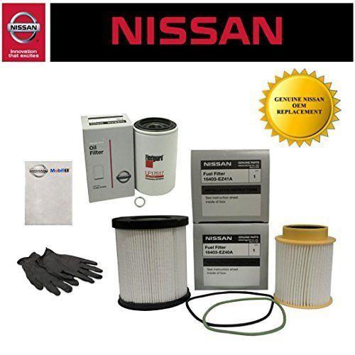 Genuine Oem Nissan Titan Xd 5 0l Diesel Fuel Filter Kit Diesel