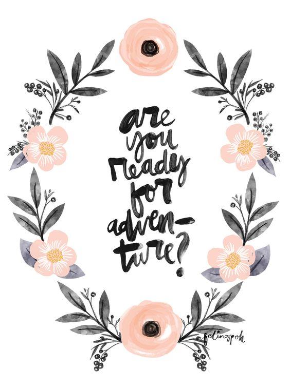 Post decorativo para imprimir frase motivacional