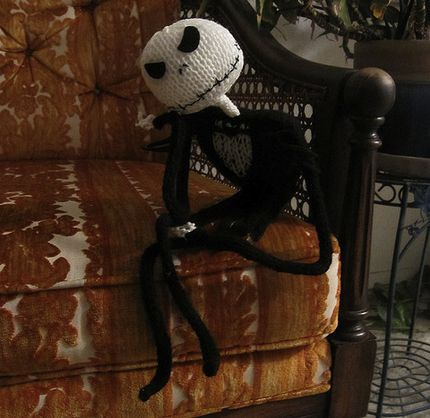 Knitting Pattern Jack Skellington : Crafts, Ravelry and Halloween on Pinterest
