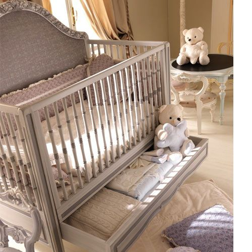Notte Crib And Luxury Baby Cribs In Baby Furniture All Baby Cribs At Poshtots Luxury Baby Crib Baby Cribs Diy Baby Furniture