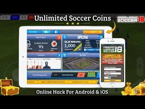 Dream League Soccer Hack 2018 Is Online Cheat Tool For Generating Unlimited Coins With Our Dream League Soccer Cheat 2018 G Tool Hacks Free Games Game Cheats