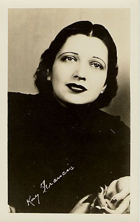 Kay Francis postcard