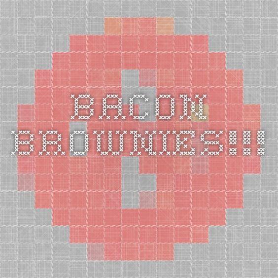 BACON BROWNIES!!!