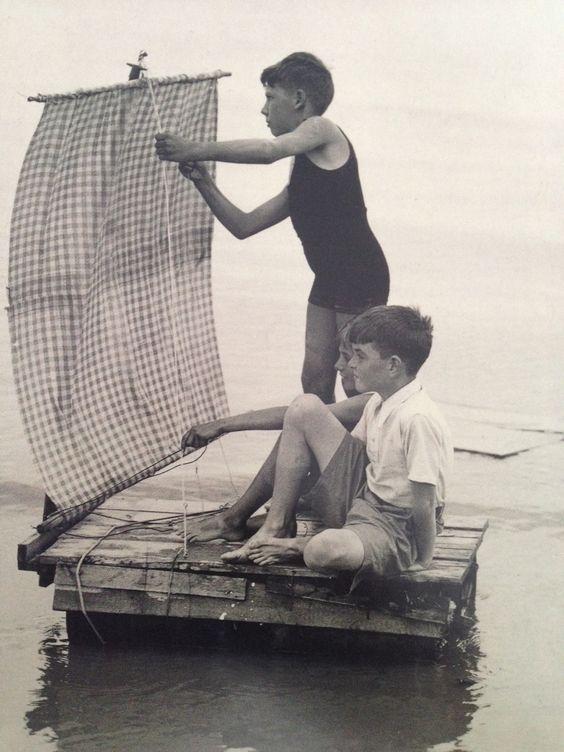 Boys + Raft = ultimate adventure _ ⛵ Marynistyka.org, ⛵ Marynistyka.pl, ⚓ Marynistyka.waw.pl Sklep.marynistyka.org ⚓ Żeglarski prezent, dekoracje marynistyczne, morskie upominki, Prezent dla Żeglarza, #Marynistyka: