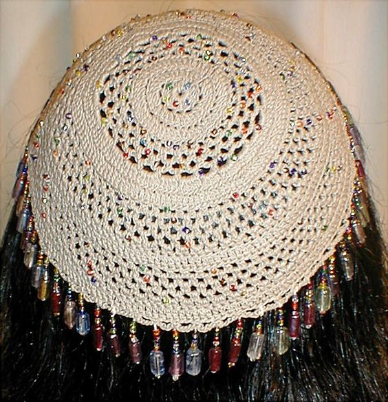Crochet Yarmulke Patterns : explore kippah crochet pattern crochet kippot and more crochet beads ...