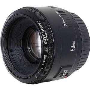 Canon EF 50mm f/1.8 II Camera Lens