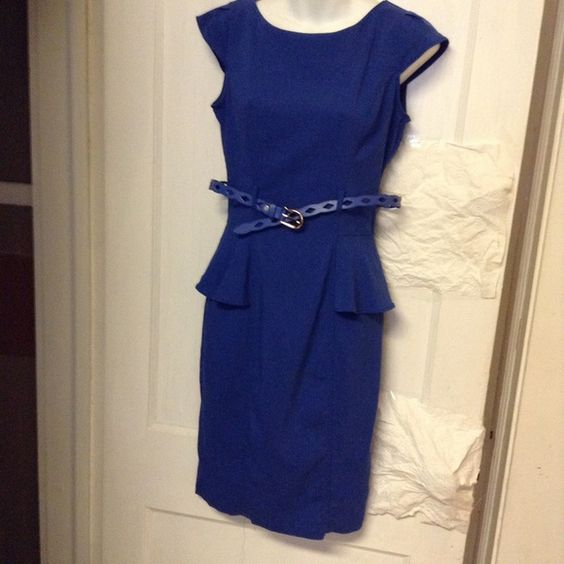 Dress XOXO cap sleeve peplums sheath dress XOXO Dresses