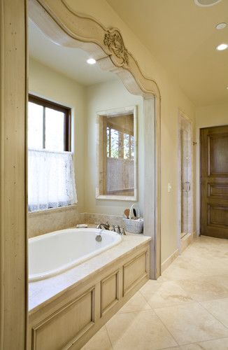 Traditional Bathroom Drop In Tubs With Marble Design, Pictures